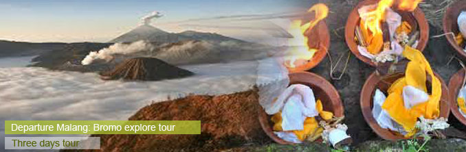 Explore volcano Bromo, start Malang - East Java, Indonesia
