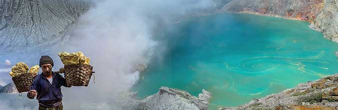Tour to Mt. Bromo & Mt. Ijen