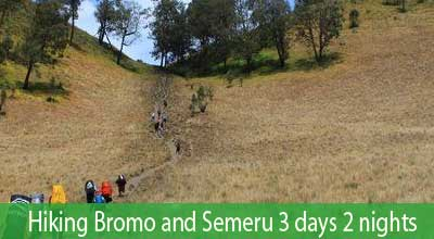 Hike to mount Semeru