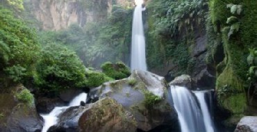 Pelangi waterfall in Poncokusumo - near Malang and Mt. Bromo