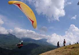 Paragliding in Batu - East Java