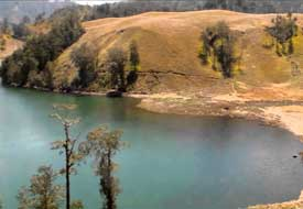 Kumbolo lake on your way to the top of mount Semeru - East Java